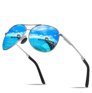High Quality Summer Mens Designer Sunglasses Man Beach Goggle Sunglasses Moddl 8013 UV400 6 Color Available