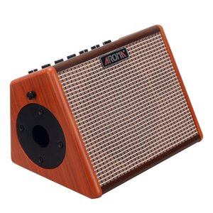 AROMA Folk Acoustic Guitar Speaker AG-26A Portable Charging Outdoor Play Karaoke Wireless Bluetooth Audio 25W