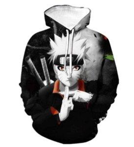 Yeni Moda Anime Naruto Sasuke Kakashi 3D Baskı Kazak Eşofman Unisex Kapüşonlular Erkekler Kadınlar Moda Kapşonlu Elbise A644