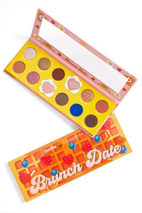الجدد الذين وصلوا Colourpop لوحة ظلال ألوان 12 بطاقة فقاعة الإفطار فراي البيض ظلال العيون طويل الأمد عينيه ذات نوعية جيدة