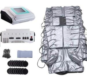 Pressotherapy Lenfatik Drenaj Makinesi, Hava Basıncı Uzak Kızılötesi EMS 3 in 1 presototerapi lenf drenaj vücut zayıflama makinesi