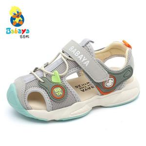 Babaya 아동 샌들 소년 비치 소프트 아래 2020 여름 새로운 여자 비치 샌들 아기 신발 신발