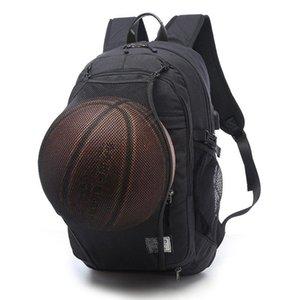 Дизайнерская спортивная сумка черная спортивная спортивная сумка для баскетбола с рюкзаком для мужчин 15,6-дюймовый ноутбук школьная сумка SportS Soccer Gym pack Мужской