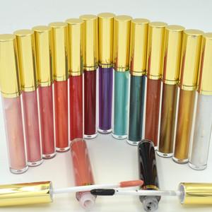 Sabor de la leche 15 brillo de labios de color claro Cosméticos para labios húmedos no mates, sin logotipo lápiz labial líquido para maquillaje diario acepte imprima su logotipo