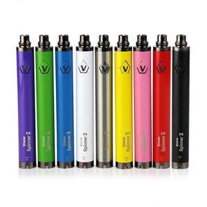 Видение Spinner 2 батареи электронные сигареты e пара 3.3~4.8 в эго 510 эго c твист видение II аккумулятор для эго распылитель ручка комплект электронных сигарет