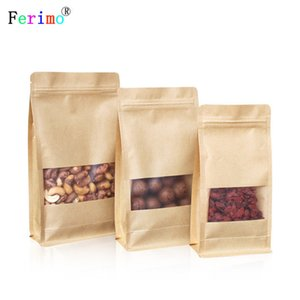 free shipping 100pcs Eight side seal pouch self-supporting bag 10*20cm food seal custom bag customize