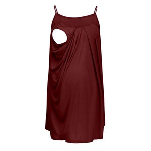 SAGACE Tanks & Camis Women Sleeveless Maternity Clothings Pregnant Maternity top solid Printed Lactation Vest Nursing Apl18