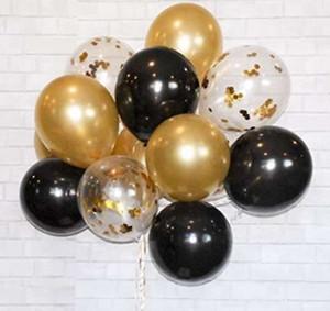 15 piezas de 12 pulgadas de cumpleaños Globo de Navidad decoraciones de la fiesta de bodas del impulso del aire Moda decoración de alta calidad de las bolas de aire nuevo de la manera