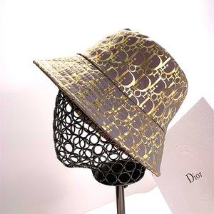 Роскошный модный бренд ведро шляпы письмо цвет бар двусторонняя Рыбацкая шляпа высокое качество классический черный белый мужчины и женщины путешествия sunhat