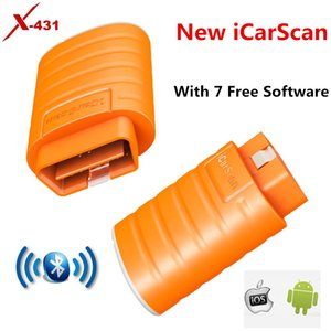Newest LAUNCH X431 iCarScan Code Reader Scanner With 7 Free Software Full Systems Diagnosis for Android IOS Supporting Bluetooth