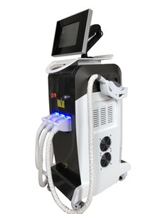 2019 Top sale OPT IPL&ND YAG Laser%RF 3 in 1 multifunctional beauty machine for hair removal skin rejuvenation face lifring