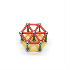 Магнит Игрушечные Бары Металлические Шары Магнитные Строительные Блоки Строительные Игрушки Для Детей DIY Дизайнер Развивающие Игрушки Для Детей