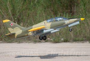 Freewing Neue elektrische RC 80 Jet-Ebene 80mm EDF-Camo Russland L-39C RC-Ebene 6S PNP oder Kit + s einziehbarer Fahrwerkskleidungsebene