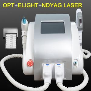 2019 Nueva máquina láser portátil nd yag para eliminación de tatuajes con láser Terapia de pigmentación de cicatriz Spot máquina de depilación láser shr