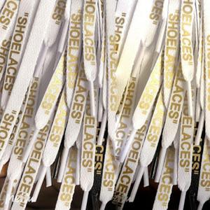 Nuovo pizzo colorato lettera Font 8 millimetri doppio lati stampato nero bianco del merletto firmato fuori Ballerine Lacet comune merletto 2020