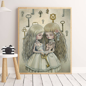 Pin by David Seghezzi on little Mark Ryden Canvas Painting on the Wall Picture Poster And Print Decorative Home Decor