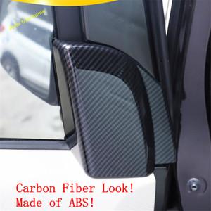 For Nissan Kicks 2016 2017 2018 ABS Car Front Door Pillar Triangle Cover Trim
