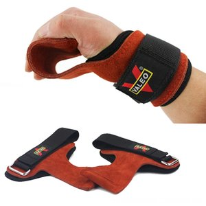 Grips Gewichtheber-Handschuhe Heavy Duty Straps Alternative Gun Lichter Jagd Power Lifting Hooks Kreuzheben Verstellbare Neopren Padded Handgelenk