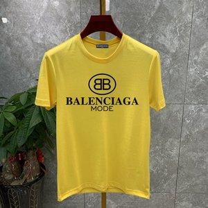 il progettista del mens magliette di lusso maglietta 2020ss magliette di estate lettera Braned stampati moda classica womenn degli uomini camicie di design