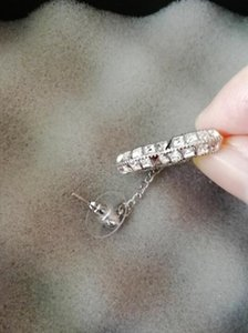Modeklassiker doppelseitiger Kristallohrring Neue langen Ohrringe Ohrringe Schmuck fällt für Hochzeit Tasche für Geschenk Geben