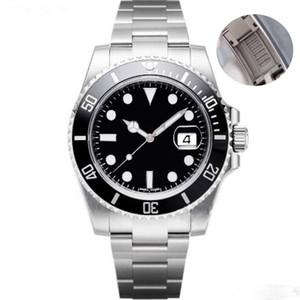 мужчины часы 2813 автоматической механической керамики ВАХТ 40мм из нержавеющей стали Скользя пряжка whates сапфира супер 116610 часов