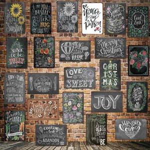 الكلاسيكية بحرارة الحلو لاحظ المشارك تين تسجيل مقهى بار مطعم جدار الفن الديكور بار اللوحات المعدنية 111