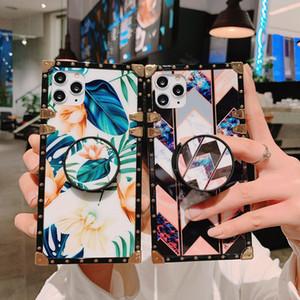 Mode Desinger Téléphone cas pour 11 / 11Pro / 11promax XR XSMAX X / XS 7P / 8P 7/8 6P / 6sp 6 / 6S Téléphone mobile Case Brochage avec Béquille
