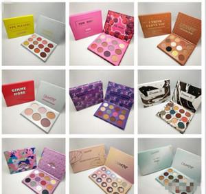 Couleur Pop élément de palette de maquillage surprise Marque fard à paupières palette fard à paupières cosmétiques cadeau de Noël pour les filles 12 couleurs CZ73