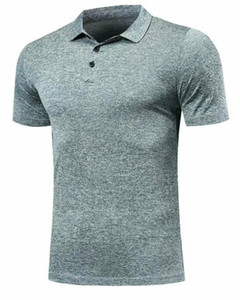 Quick Dry Fit Polo Shirt Running T-Shirt Men Polo Tennis Shirt Basketball GYM Running T Shirt Badminton Soccer Sport Clothes DIY, Customized