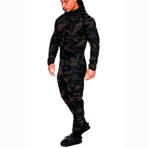 Survêtement Hommes Imprimer Costumes Hommes Costumes Hommes Couture Vestes de camouflage Vêtements de sport Vêtements de sport Sweats à capuche Sweats Pantalons Jogger