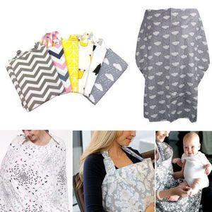 Hirigin 2018 Hot Style mãe amamentação Enfermagem Cover Up infantil do bebê Poncho Xaile Úbere Cotton Blanket Wear portátil