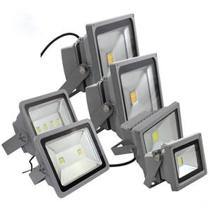 inundación 30W 50W 100W 150W 200W LED lámpara de proyección proyector de luz anuncio firma lámpara impermeable AC85-265V reflector al aire libre
