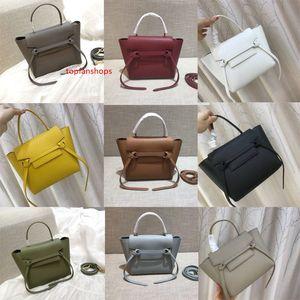 Designer  handbags purses crossbody bag Casual Tote lady Genuine Leather MICRO BELT BAG IN GRAINED CALFSKIN women shoulder bags