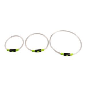 10pcs New Luminous LED Pet Collar Safety LED Dog Collar USB Rechargeable LED Safety Necklace Pet Dog Collar