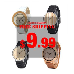 BOBO BIRD Wood Watch Men Ladies Clearance Sale price Promotion Quartz Wristwatches Male Women Leather Strap relogio masculino