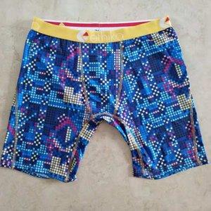 Случайный цвет Ethika мужчины длинные боксерские трусы быстросохнущие штапельные скейтборд уличные модные спортивные шорты боксерские брюки бутик трусы