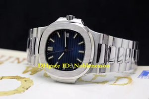 Горячий продавать Лучшее качество Часы 40mm Nautilus 5711 / 1A-001 Miyota CAL.324 S C Движение Прозрачный Механические Автоматические Мужские часы