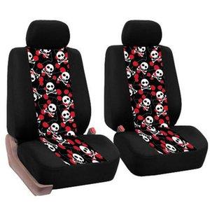 4 Adet / set Universal Araç Koltuk Coversl Otomobiller Pedleri İç Vasıta Minder Malzemeleri korunması Car-stil Çok desenli