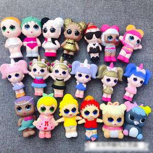 A Mais Recente Surpresa Bebê lol Squishy 19 Modelos Lento Rising Estresse Jumbo Aliviar lol surpresa boneca Multicolor Crianças Squeeze Brinquedos crianças brinquedos