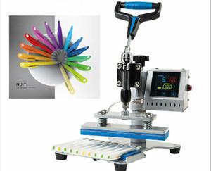 Potere manuale della macchina della pressa di calore della penna della testa dell'oscillazione 200W per la penna di 10pcs usa la carta di sublimazione del laser per funzionare con alta qualità