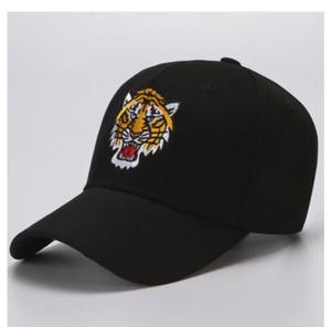 Champ casual Güneşlik şapka yüksek kaliteli Kaplan kafa nakış kap hip hop erkekler / kadınlar açık nefes spor beyzbol şapkası ördek dil şapka