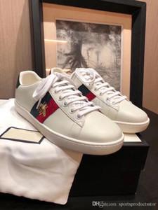 scarpe gucci Designer economici Uomo Donna Sneaker Scarpe casual Low Top Italia Marca Ace Bee Stripes Scarpe da passeggio Scarpe da ginnastica sportive Chaussures Pour Hommes