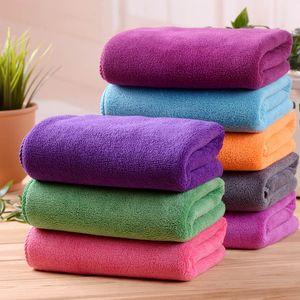 Vieruodis serviettes de bain super souple et serviette Absorbent Cheveux Secs Gym Bain Douche Sport Voyage Big molleton Serviettes