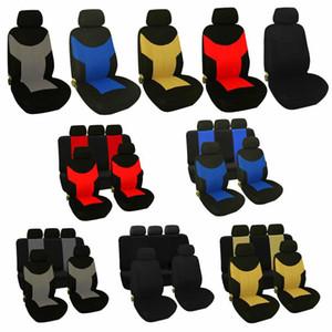 Adeeing universal resistente al desgaste del asiento de coche tapizado de los asientos protectores Auto Car-Set Styling completo Universal Fit Accesorios para el coche