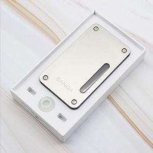 Lo nuevo Metal Plástico pipa de agua Tabaco El consumo de cigarrillos cuadro de la herramienta Tubos 2 funciones con menor Paquete de oro color de la plata Venta