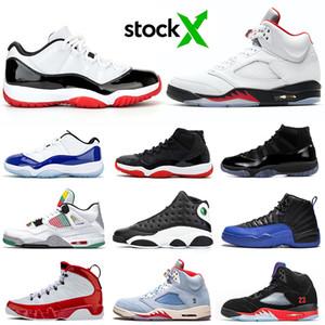 nike air jordan retro los hombres zapatos de baloncesto 5s juego real 12s Concord 11s 13s tapa y vestido rojos de gimnasio 9s para hombre zapatillas deportivas formadores 7-13