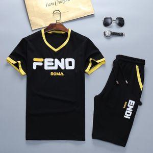 2019 Set della moda di New Tuta Giacche Esecuzione Tute Uomini Sport Suit Lettera stampa Slim Felpe Abbigliamento pista Kit Medusa Sportswear