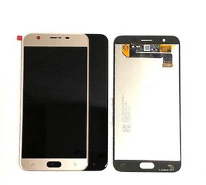 Orijinal 5.5 LCD Ekran Parlaklık Ayarlanabilir Ile Samsung Galaxy J7 2019 J737 J7V Için