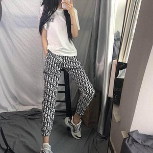 Summer fast hand web celebrity with the same style of sports pants female students Korean version loose thin nine points leisure society wom