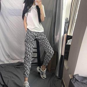 Estate web celebrity mano veloce con lo stesso stile di pantaloni sportivi studentesse versione coreana sciolto sottile nove punti società del tempo libero wom
